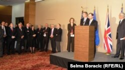 Sa konferencije o reformi Ustava Federacije BiH, 14. maj 2013.
