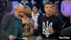 Олексій Гончаренко на одному з російських політичних ток-шоу