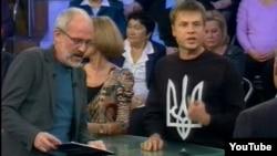 Алексей Гончаренко в студии Первого канала