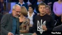 Олексій Гончаренко ефірі «Першого каналу» російського телебачення