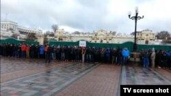 Тітушки в Києві, 29 листопада 2013 року