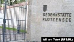 Memorialul de la închisoarea Gestapo-ului de la Plötzensee din Berlin