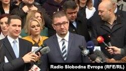 Претседателот на ВМРО-ДПМНЕ, Христијан Мицкоски