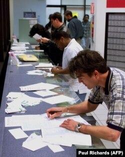 Заполнение бланков налоговых деклараций, 1998, США