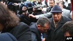 Ish shefi i stafit të ushtrisë turke, Ismail Hakki Karadayi arrin në një gjykatë turke në një nga proceset e mëparshme, 03 janar 2013