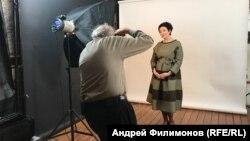 Галина Козловская в студии