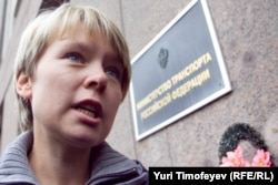 Khimki activist Yevgenia Chirikova has herself been persecuted for opposing the highway plan.