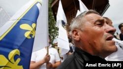 Sa protesta pripadnika boračke populacije u Sarajevu
