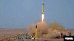 مانور موشکی سپاه (عکس از آرشیو)