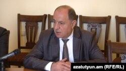 Заместитель министра по чрезвычайным ситуациям Армении Айкарам Мхитарян (архив)