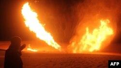 Експлозија на гасовод во Египет, 10 ноември,2011