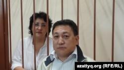 "Наталья Соколова, бывший юрист АО ""Каражанбасмунай"", адвокат Арман Жаменов."