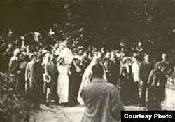 Похороны Леси Украинки. Байково кладбище. Киев, август 1913