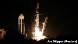 Запуск ракеты-носителя Falcon 9 второго марта
