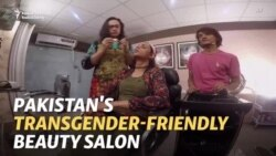 Breaking Barriers With Beauty: Pakistan's First Transgender Salon