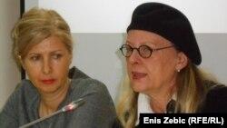 Olga Manojlović Pintar i Nataša Mataušić