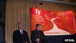 Константин Внуков — директор первого департамента Азии МИД РФ и Виктор Миттер — вице-губернатор Амурской области