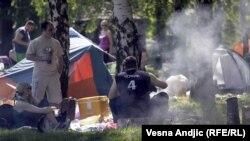 Prvi maj na izletištima u Beogradu