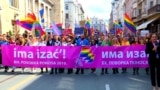Bosnia's First LGBT Parade Marches Through Sarajevo