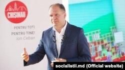 Ion Ceban, în campania pentru Primăria Chișinău, octombrie 2019