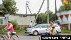 Сьвятлана Алексіевіч наведала школу, дзе яна вучылася. ФОТА