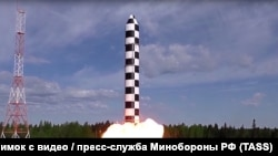 Бросковые испытания тяжелой жидкостной межконтинентальной баллистической ракеты «Сармат».