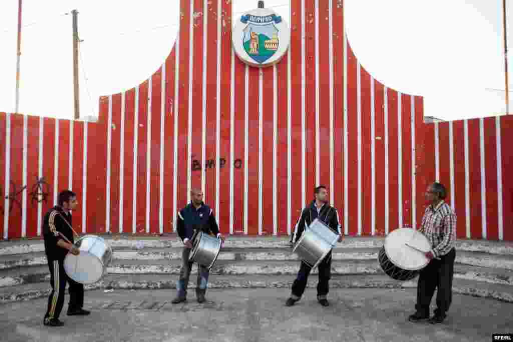 The Drummers Of Macedonia's Semka Band #20