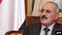 Али Абдалла Салех. Сана, 22 қаңтар 2012 жыл.