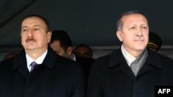 İ.Əliyev və R.T.Erdoğan