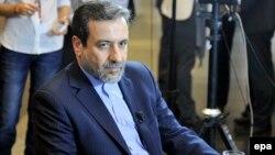 Иранскиот заменик-министер за надворешни работи Абас Арагчи.