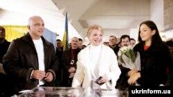 На выборах в Верховную раду лидирует блок Юлии Тимошенко