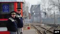 Poliţia de frontieră la Ungheni