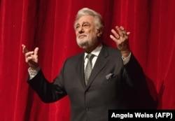 Placido Domingo pe scenă la Metropolitan Opera