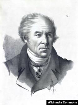 Іван Мартос (1754–1835) – скульптор-монументаліст, уродженець міста Ічні (Чернігівщина). Народився в українській козацько-старшинській родині