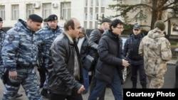 Задержание Заира Акадырова, 15 января 2016 года