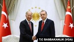 رجب طیب اردوغان و جو بایدن