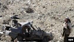 Pamje nga një sulm i mëparshëm në Achin të Afganistanit