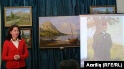 Кырымтатар сәнгать музее мөдире Сафия Әминова чыгыш ясый