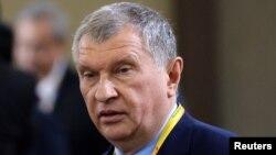 """Ресейдің """"Роснефть"""" компаниясының атқарушы директоры Игорь Сечин."""