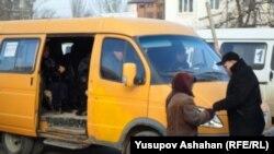 Маршрутное такси, иллюстративное фото
