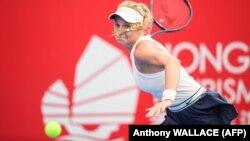 Українська тенісистка Даяна Ястремська. Гонконг, 12 жовтня 2018 року
