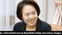 Ambasadorka Kine u Srbiji, Čen Bo.