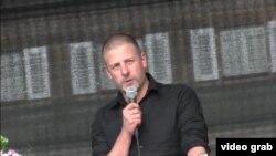 Naţionalistul Götz Kubitschek la Dresda