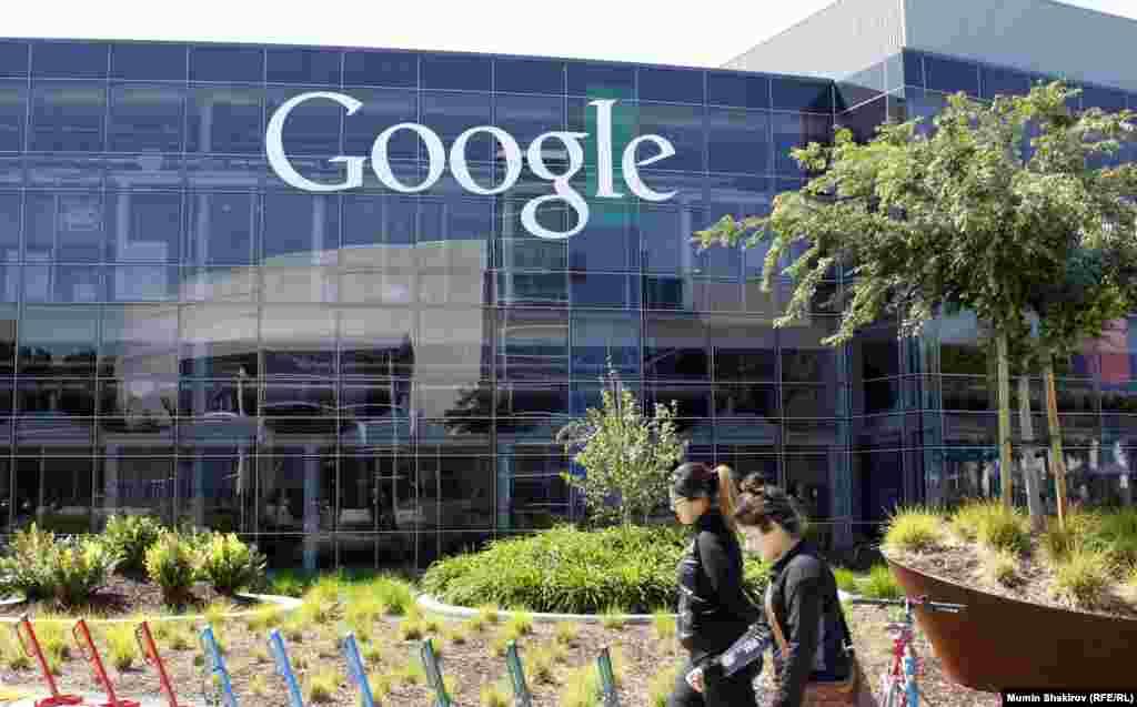 Штаб-квартира корпорации Google в Маунтин-Вью в Кремниевой долине, более известная как Googleplex