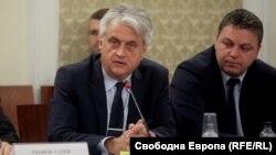Бойко Рашков, служебен министър на вътрешните работи