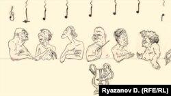 Дмитрий Рязанов, Портрет нот