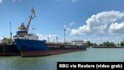 Корабель Nika Spirit в порту Ізмаїла