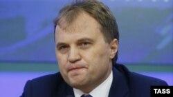 Liderul transnistrean Evgheni Şevciuk
