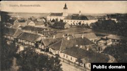 Міжваенны выгляд Слоніма. Фота з Нацыянальнай бібліятэкі Польшчы
