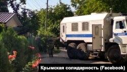 Російські силовики в місті Старий Крим, ілюстративне фото, червень 2018 року